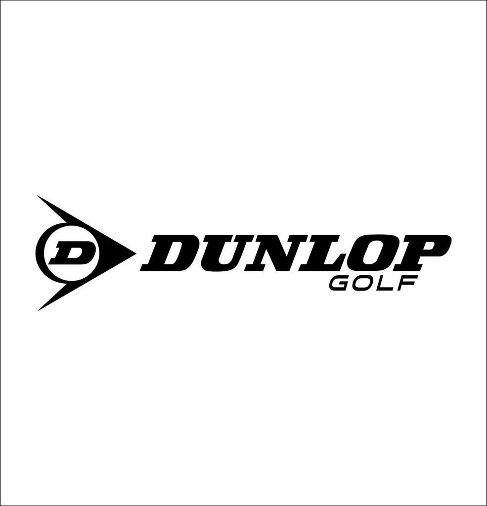 Dunlop Golf decal, golf decal, car decal sticker