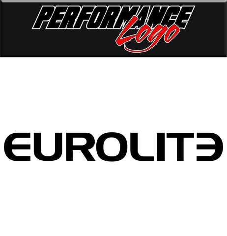 Eurolite decal performance decal sticker