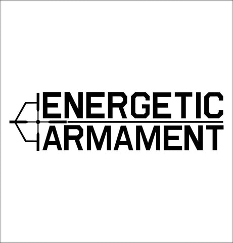 Energetic Armament decal, firearm decal, car decal sticker