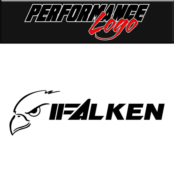 Falken Tire decal, performance decal sticker