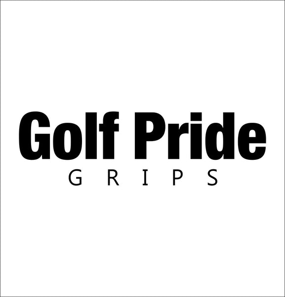 Golf Pride Grips decal, golf decal, car decal sticker