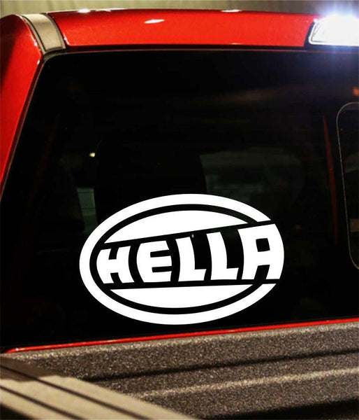 hella performance logo decal - North 49 Decals