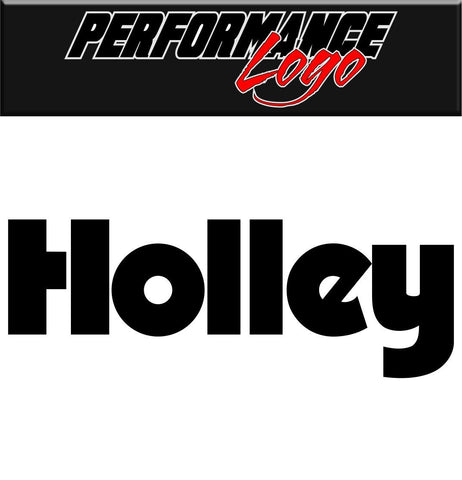 Holley decal performance decal sticker