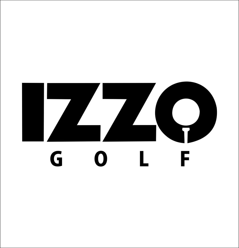 Izzo decal, golf decal, car decal sticker