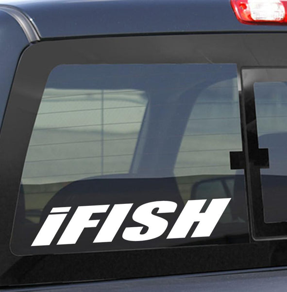 I fish fishing decal - North 49 Decals
