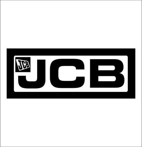 JCB decal, farm decal, car decal sticker