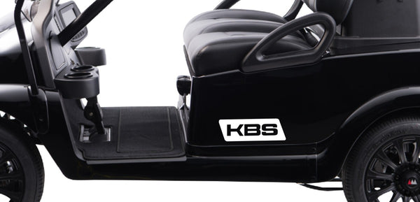 KBS Shafts decal, golf decal, car decal sticker
