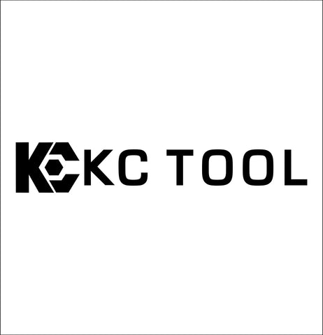kc tool decal, car decal sticker