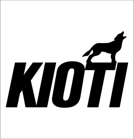 Kioti decal, farm decal, car decal sticker