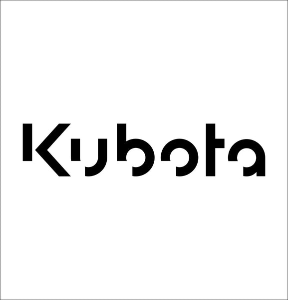 Kubota decal, farm decal, car decal sticker