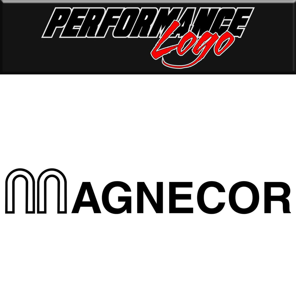 Magnecor decal, performance decal, sticker