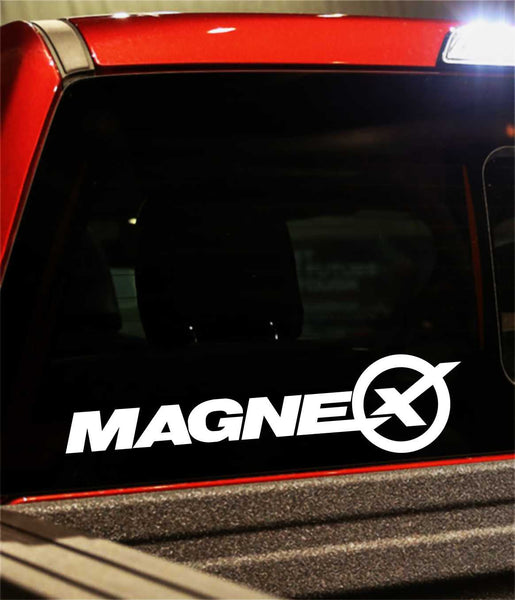 Magnex Exhausts decal - North 49 Decals