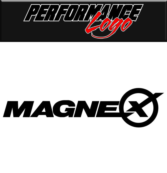 Magnex Exhausts decal, performance decal, sticker