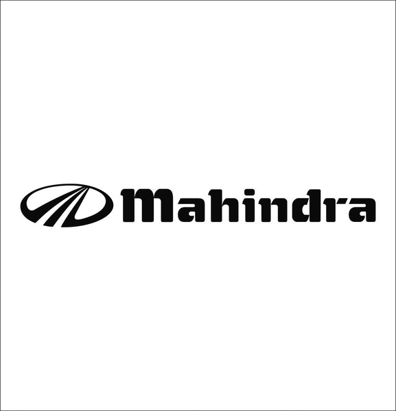 Mahindra decal, farm decal, car decal sticker