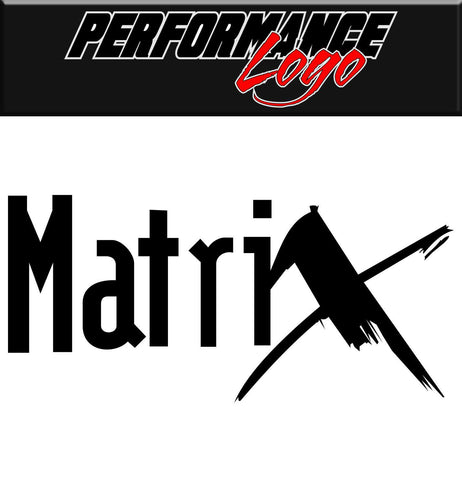 matrix performance logo decal - North 49 Decals