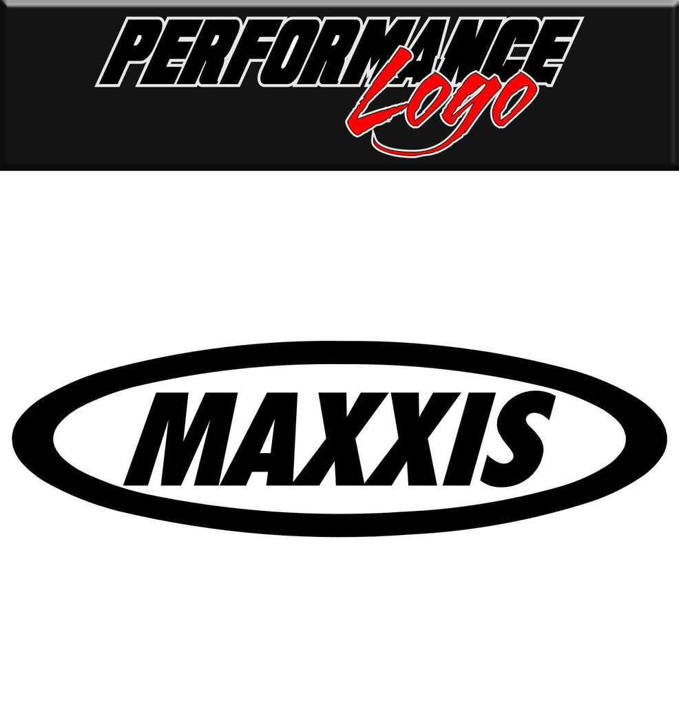 Maxxis decal, performance decal, sticker