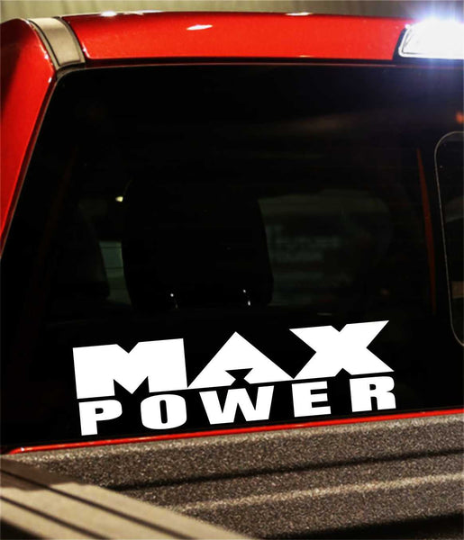 max power decal - North 49 Decals