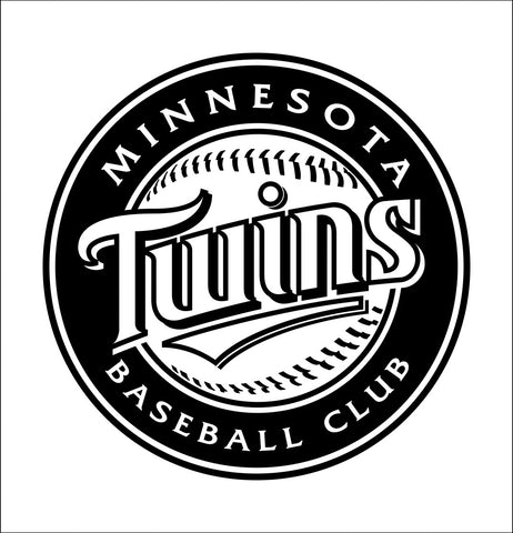 Minnesota Twins decal, car decal sticker