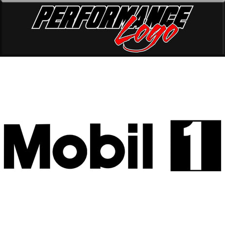 Mobil 1 decal, performance decal, sticker