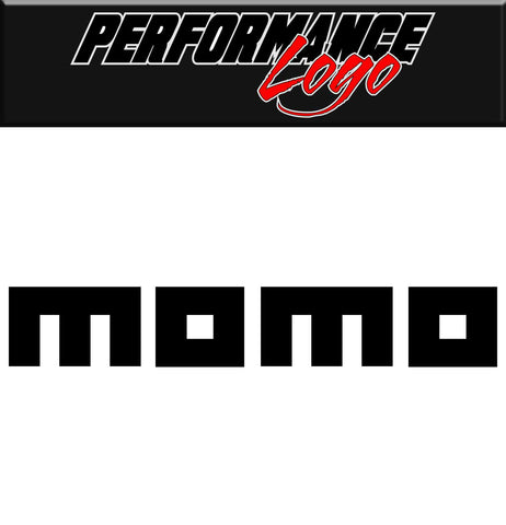 Momo decal, performance decal, sticker