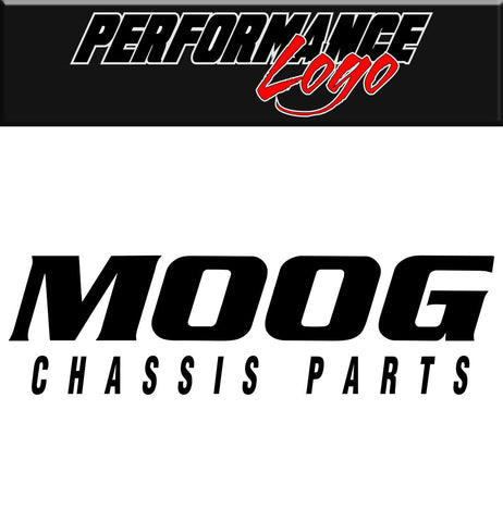 Moog Chassis decal, performance decal, sticker