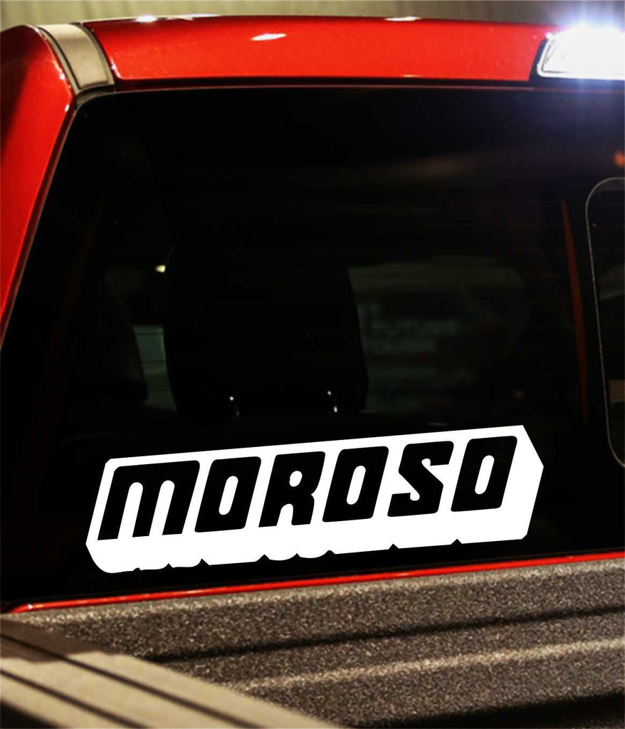 1-Moroso Car vinyl Sticker