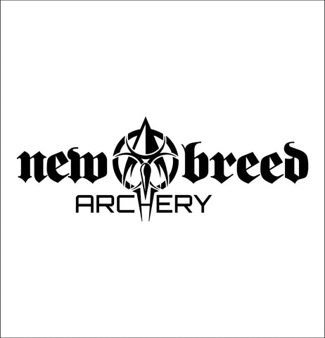 New Breed Archery decal