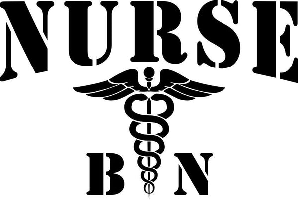 Nurse bn nurse decal - North 49 Decals