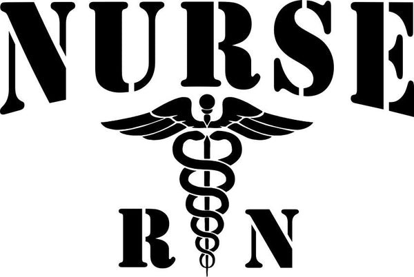 Nurse rn nurse decal - North 49 Decals