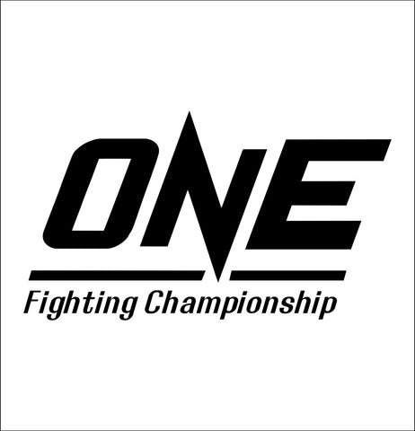 One FC decal, mma boxing decal, car decal sticker