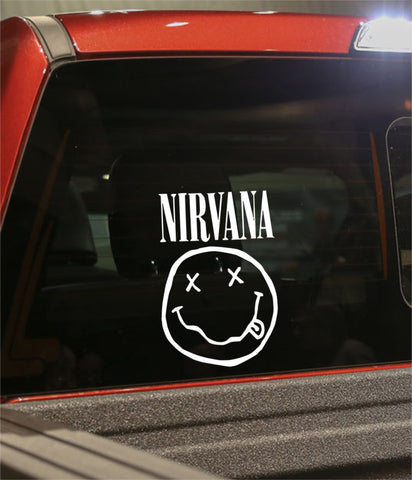 Nirvana marijuana decal - North 49 Decals