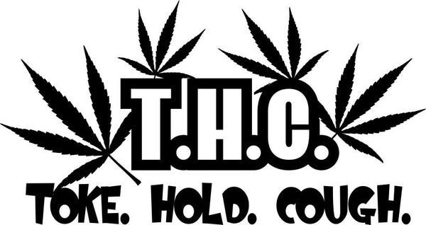 THC marijuana decal - North 49 Decals