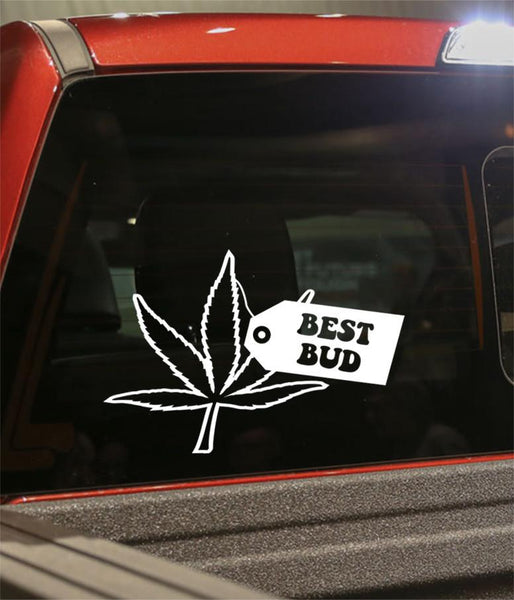 Best bud marijuana decal - North 49 Decals