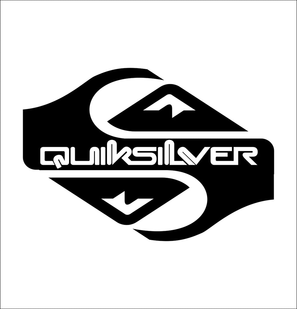 Quiksilver decal, skateboarding decal, car decal sticker