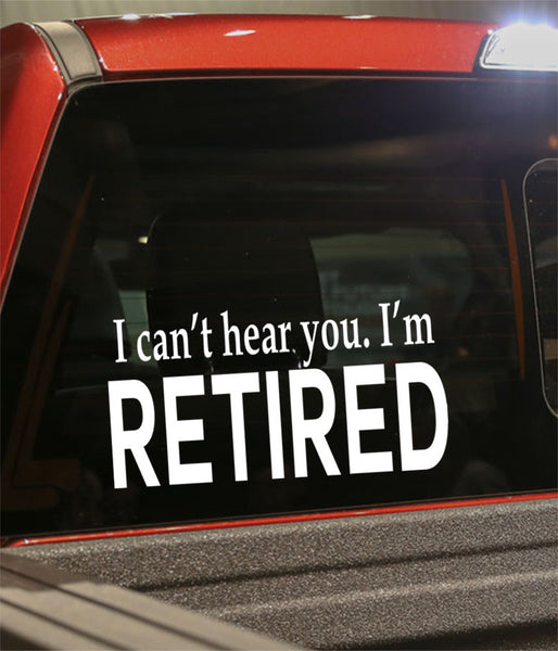 Retirement decal 12 - North 49 Decals