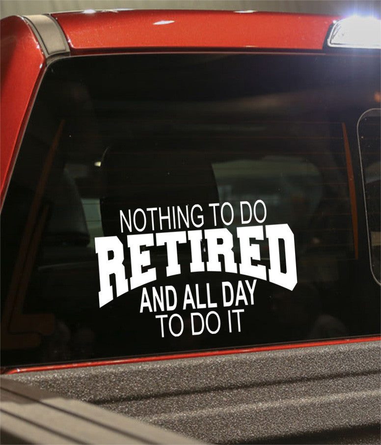 Retirement decal 15 - North 49 Decals