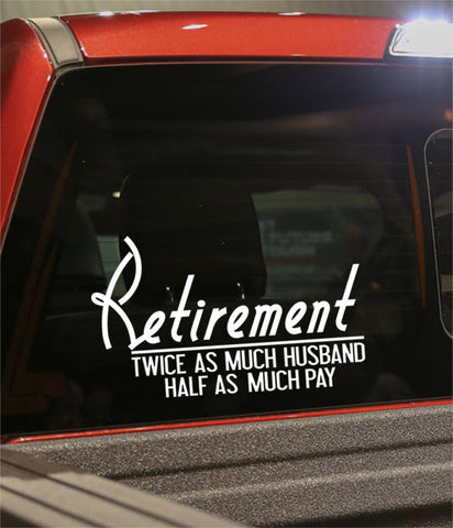 Retirement decal 16 - North 49 Decals