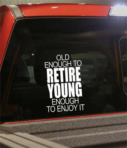 Retirement decal 3 - North 49 Decals