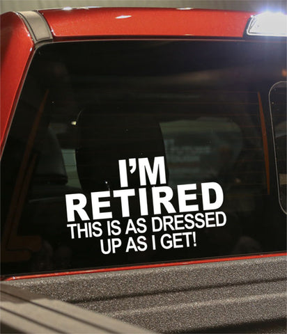 Retirement decal 4 - North 49 Decals