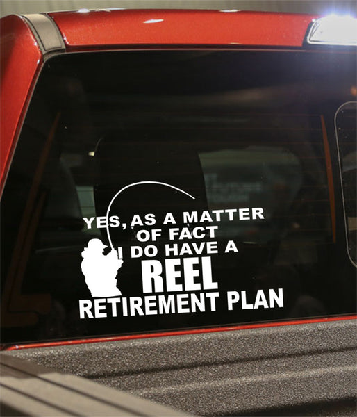 Retirement decal 7 - North 49 Decals