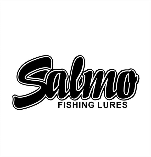 Salmo Lures decal, sticker, hunting fishing decal
