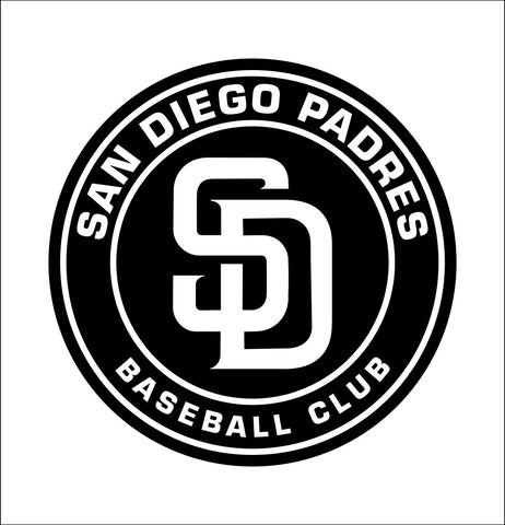 San Diego Padres decal, car decal sticker