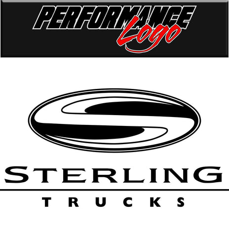 Sterling Trucks decal, performance decal, sticker
