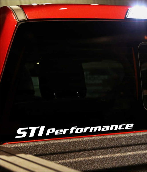 sti performance decal - North 49 Decals