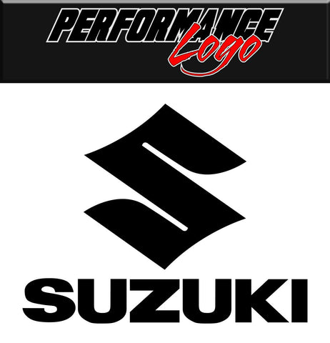 Suzuki decal, performance decal, sticker