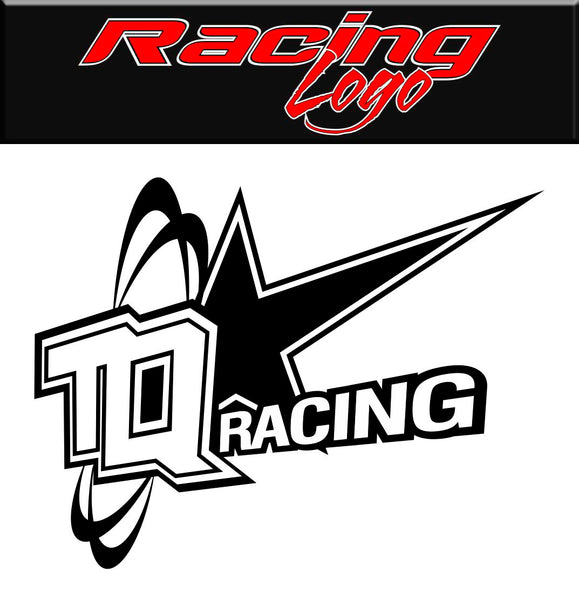 TQ Racing decal, racing sticker