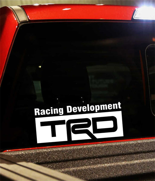 trd performance logo decal - North 49 Decals