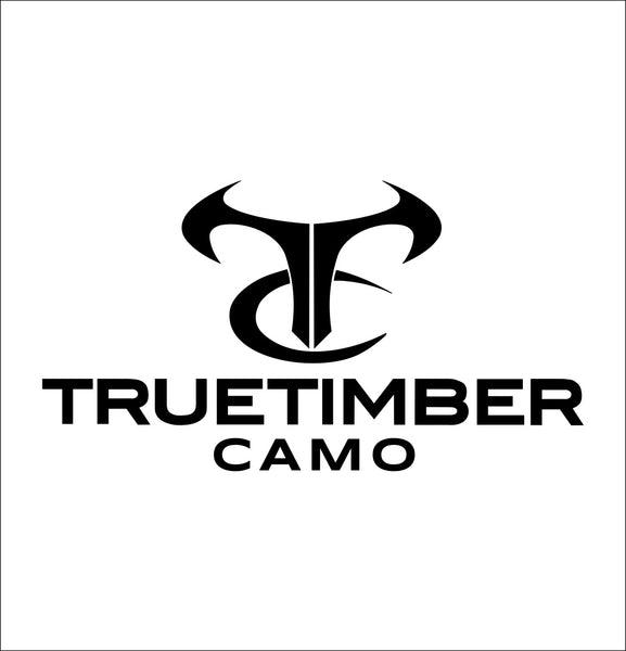 truetimber decal, car decal sticker