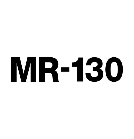Kato MR-130 decal