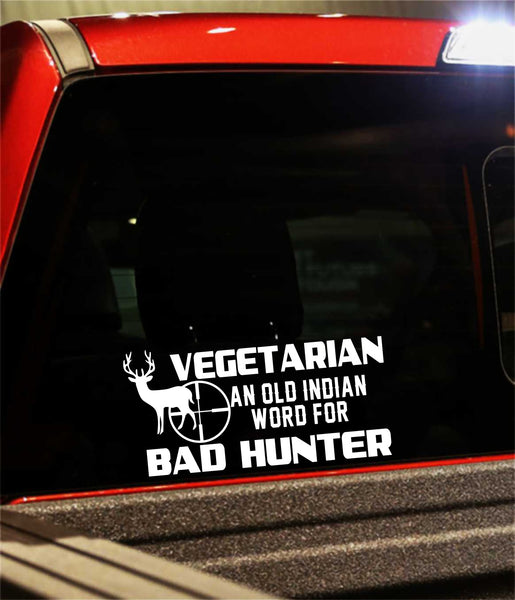 hunting decal, car decal, sticker